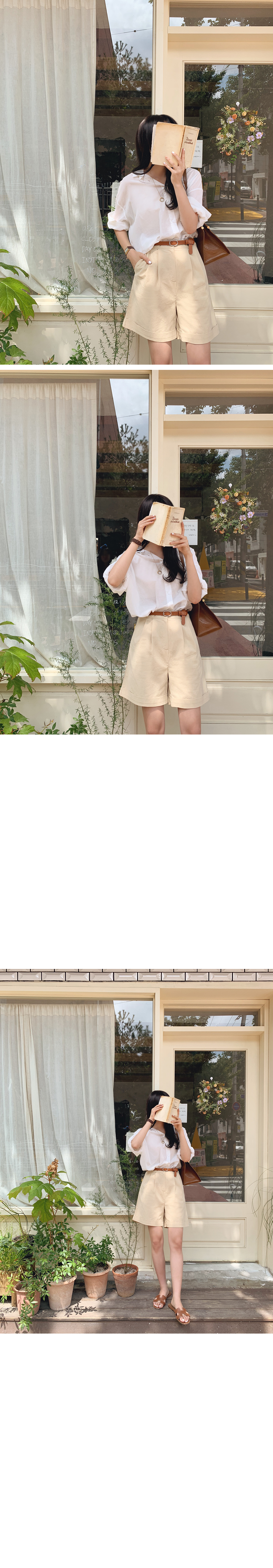 Cabbrapin chin 5 part belt pants