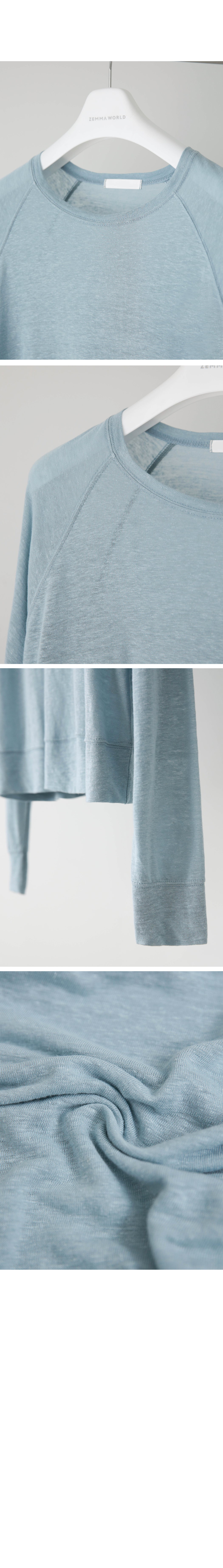 Linen semi-crop one-to-many