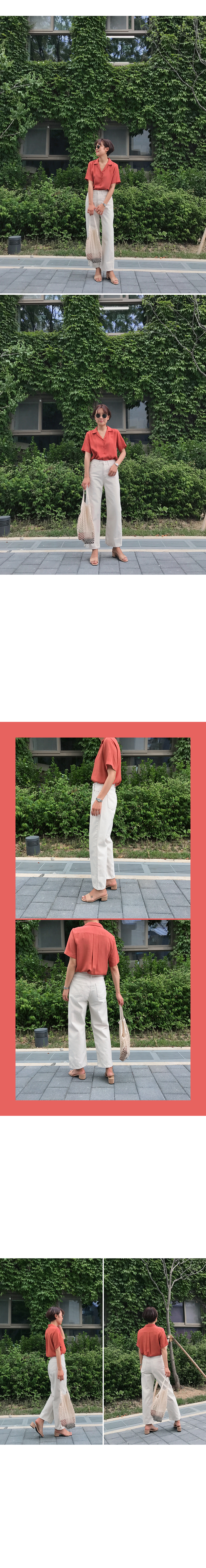 Mood Color Short Sleeve Shirt