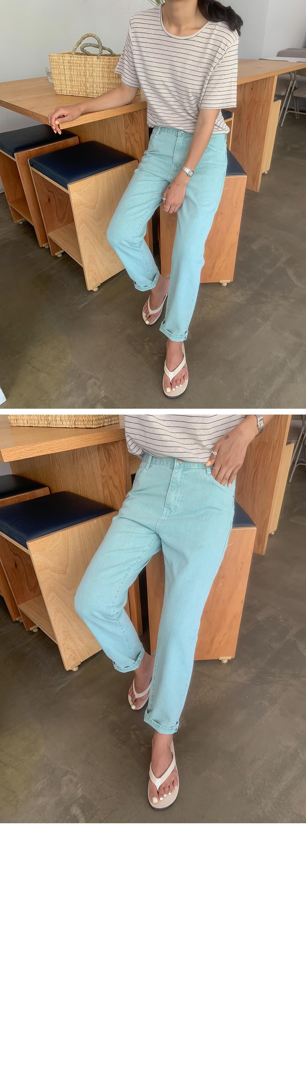 Indie Color Jean Boy Fit Pants