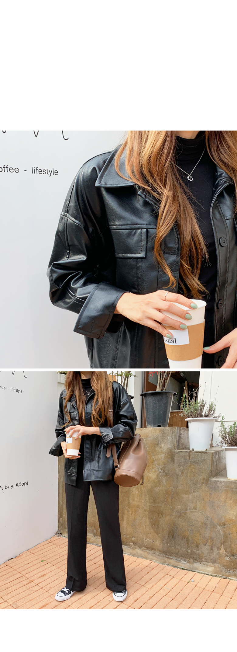 Danish Daily Leather Jacket
