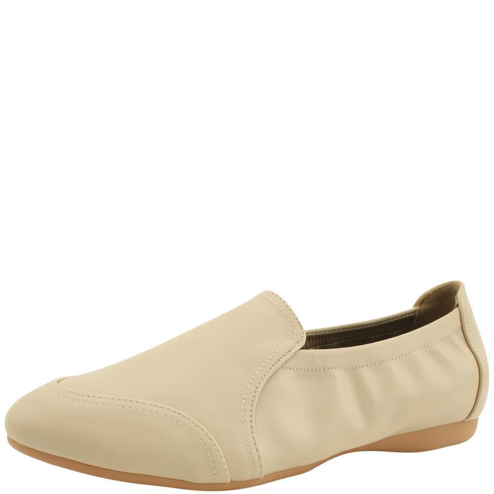 韓國空運 - Banding soft loafers shoes beige 樂福鞋