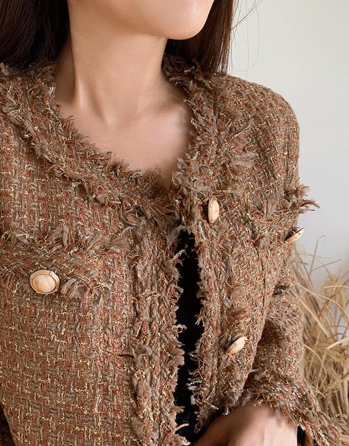 Hazel Tweed Jacket
