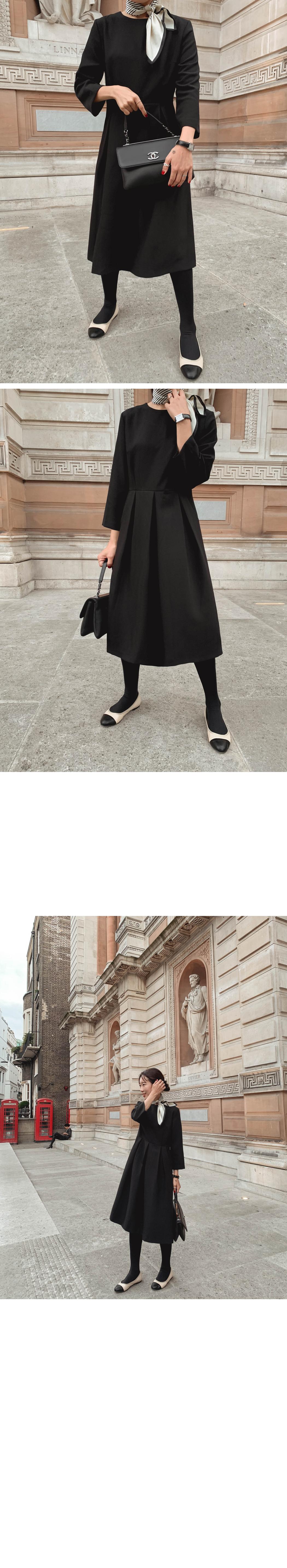 My-littleclassic/ Kelly pintuck pleated dress