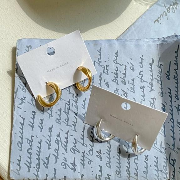Two and Ring Earrings