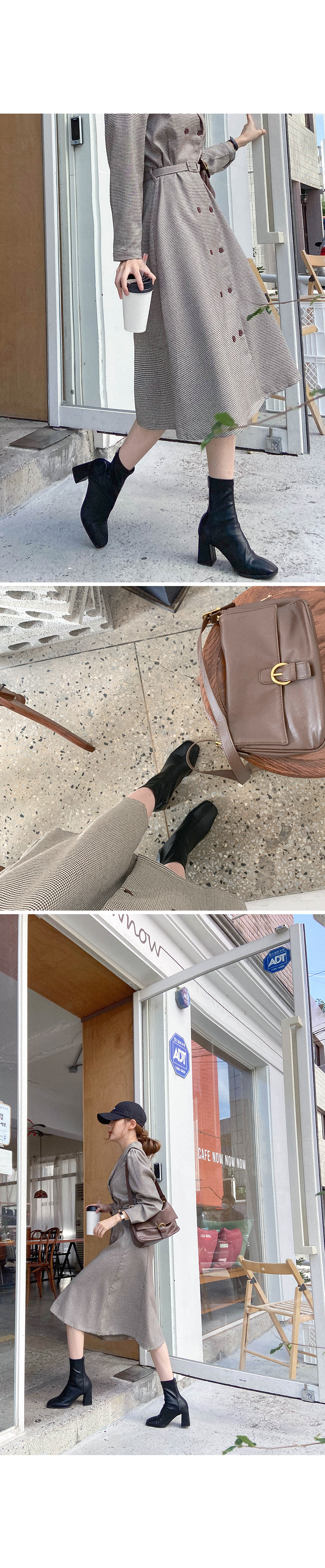 Advanced Jingakko Ankle Boots