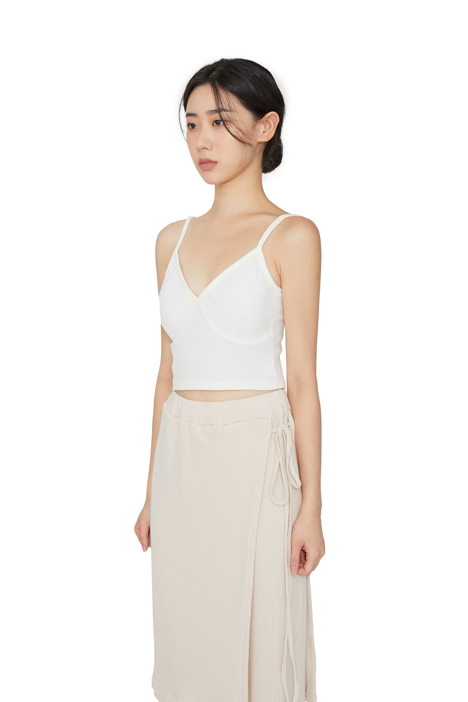 Mort V-neck pad sleeveless