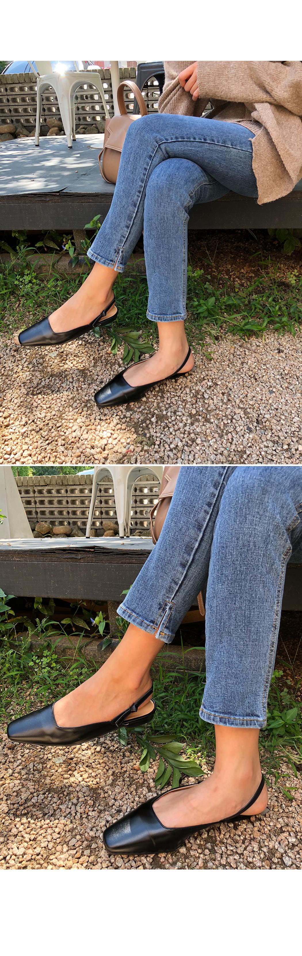 Yumi-Sling Back Shoes