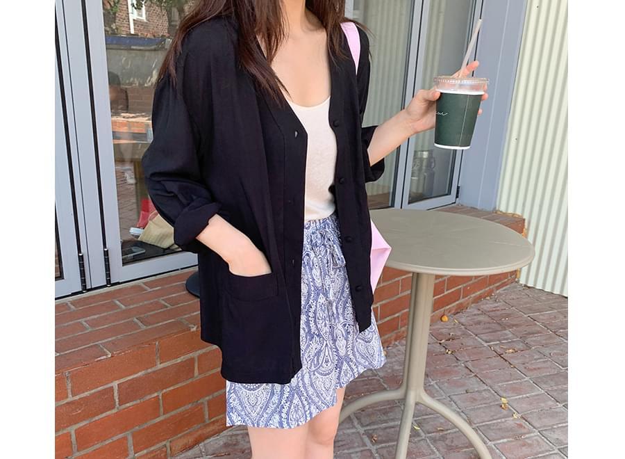 Jam soft blouse cardigan_Y