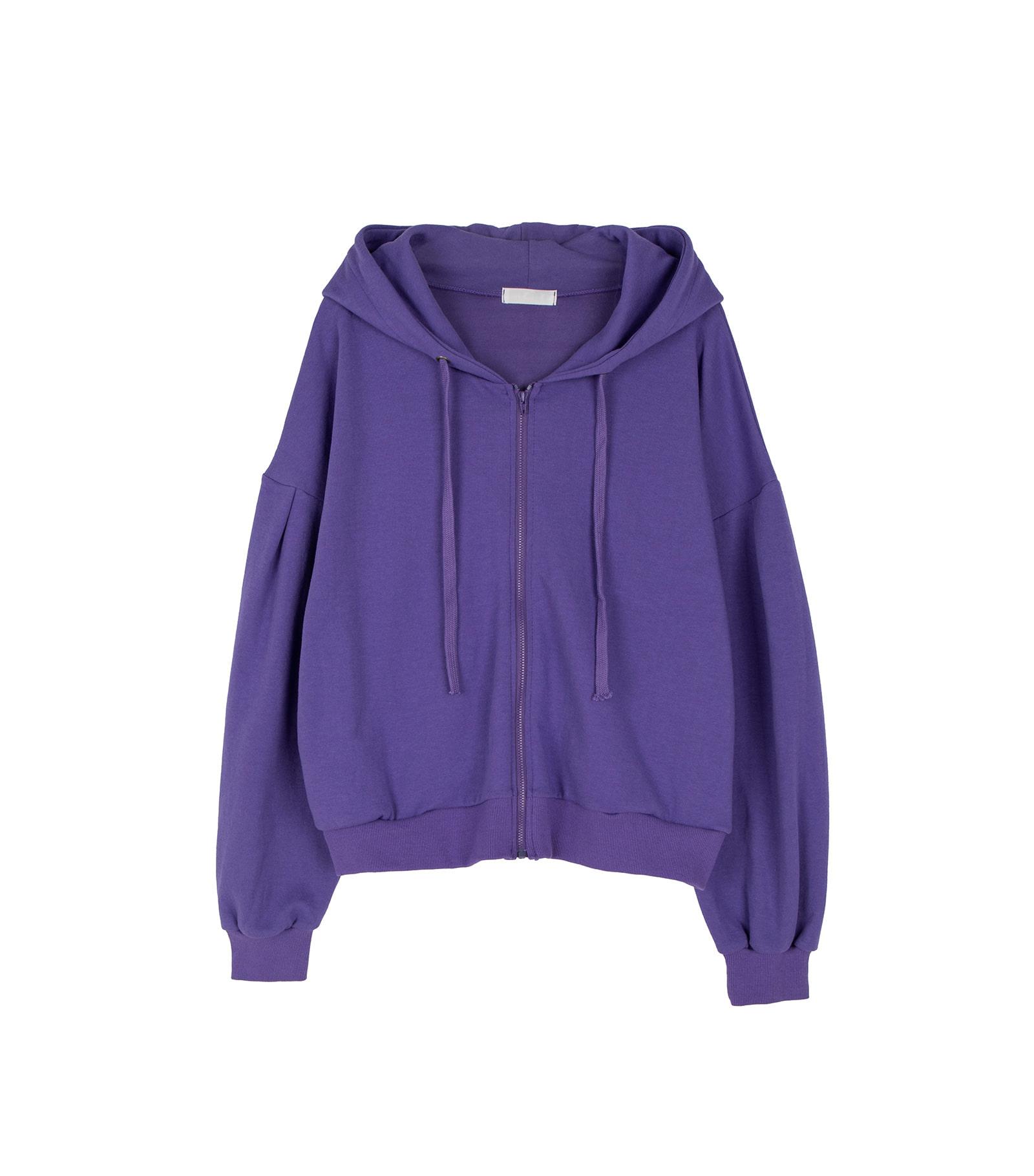 Hershey puff zip-up sweatshirt
