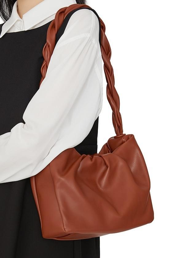Wish twisted wrinkled shoulder bag 肩背包