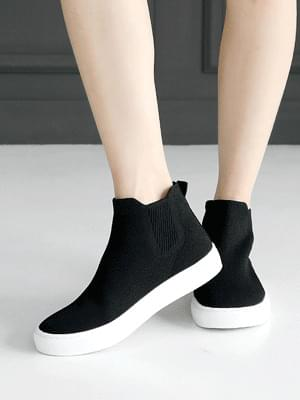 Lysea high-top socks slip-on 2cm 球鞋/布鞋