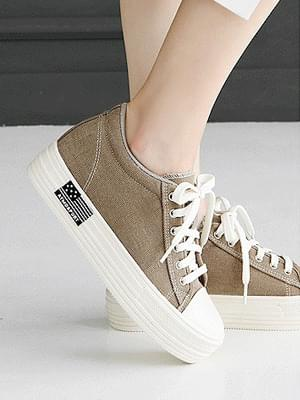 Sutier high heel sneakers 5cm 球鞋/布鞋