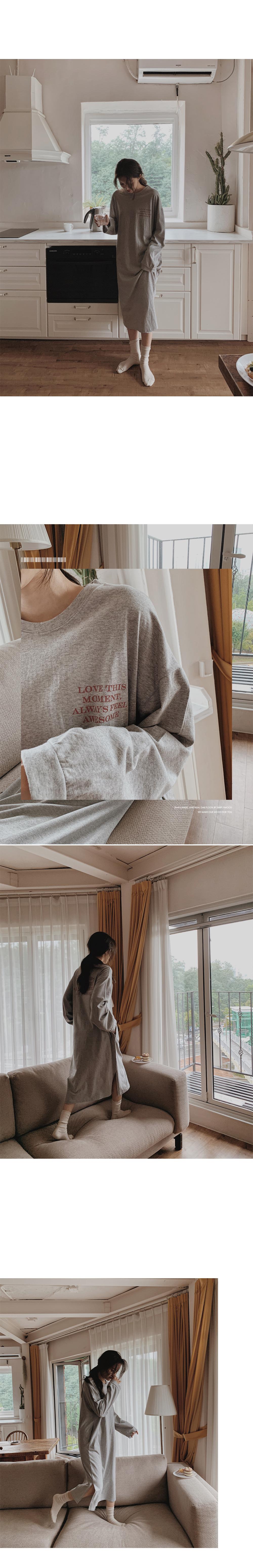 Lucid Easy Long Cotton Dress