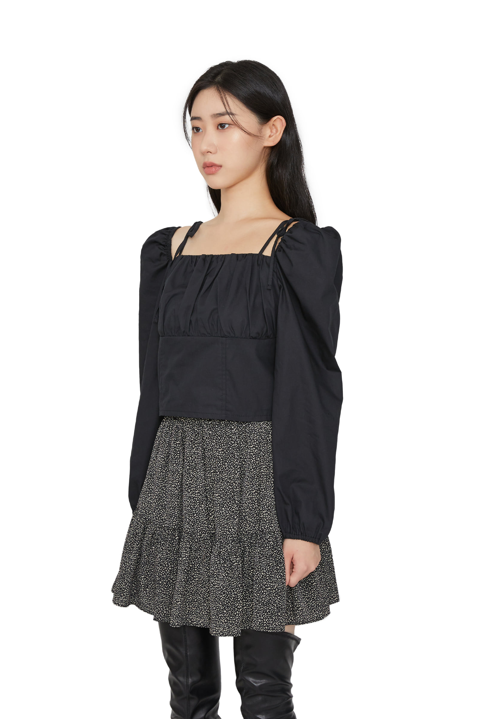 Your square bow blouse