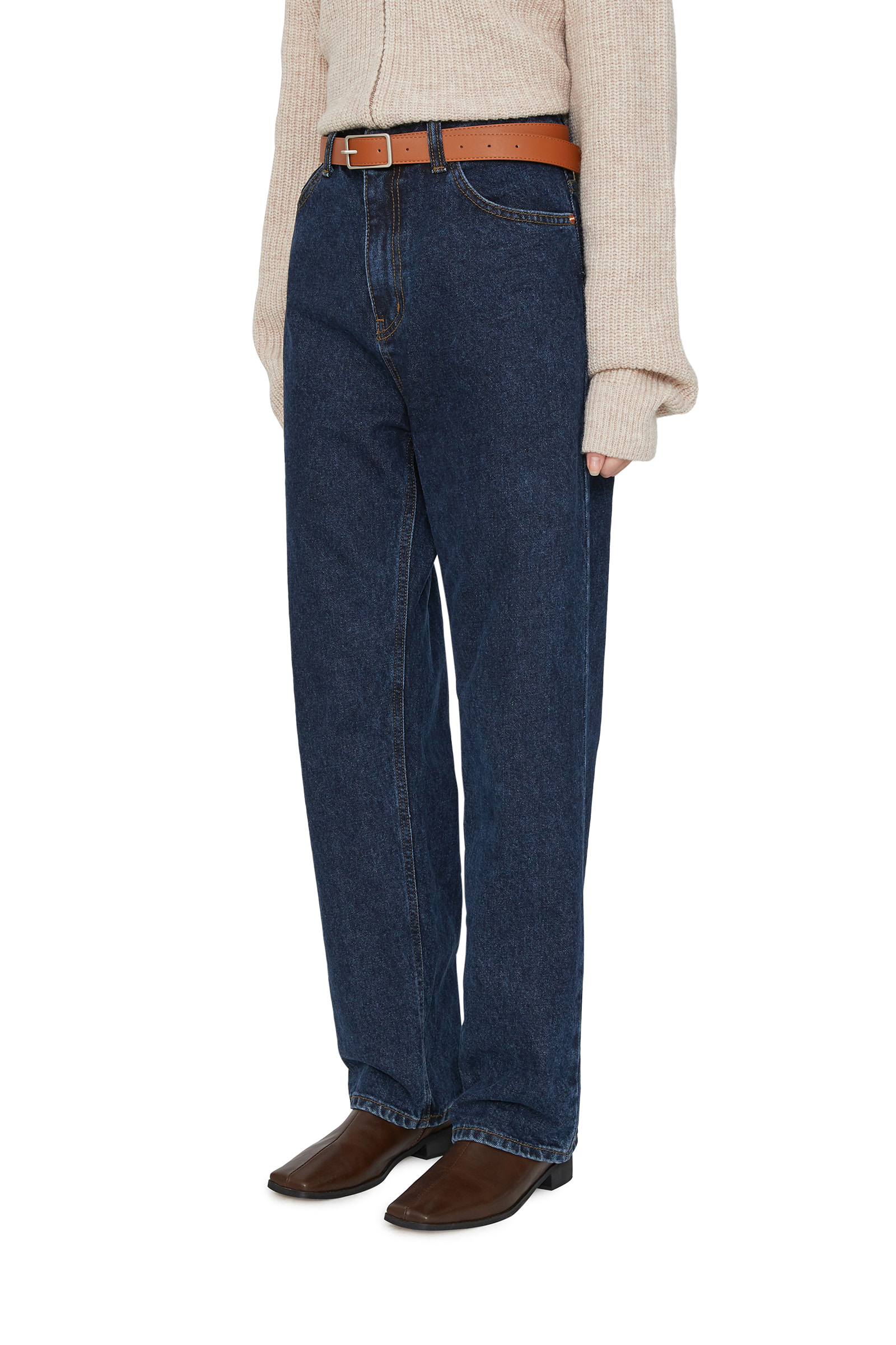 Save Faded straight jeans