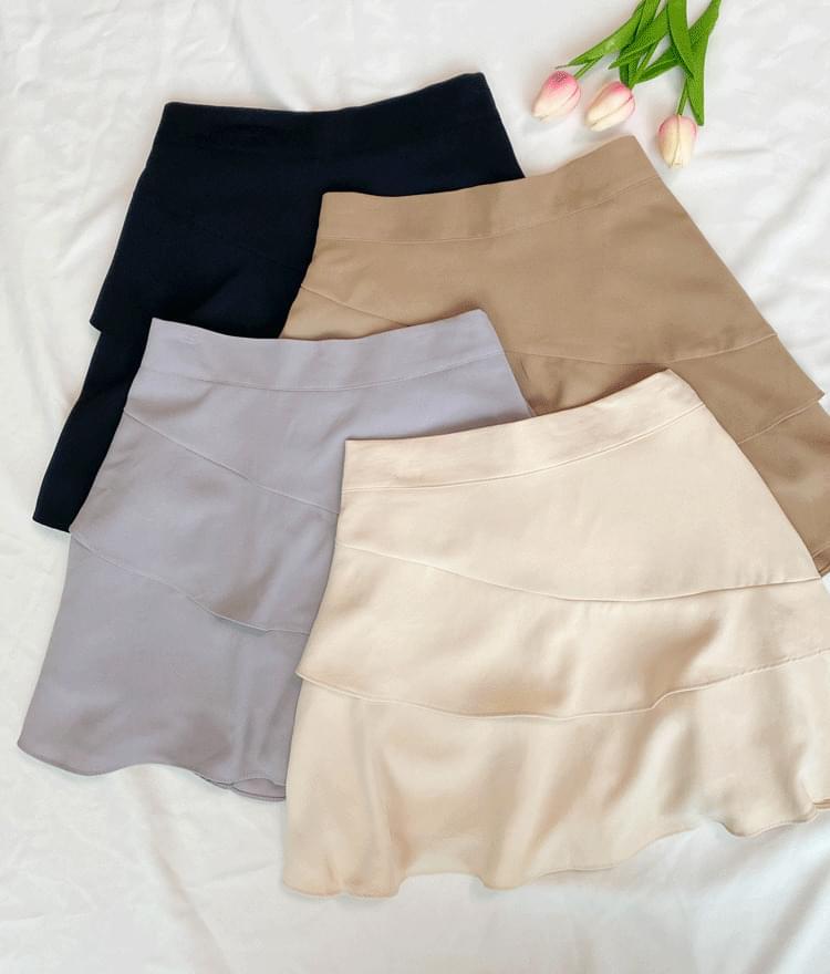 Purple night skirt