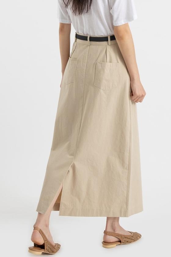 Melbourne Belt Midi Skirt