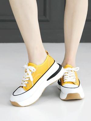 Leona full-heeled sneakers 4cm 球鞋/布鞋