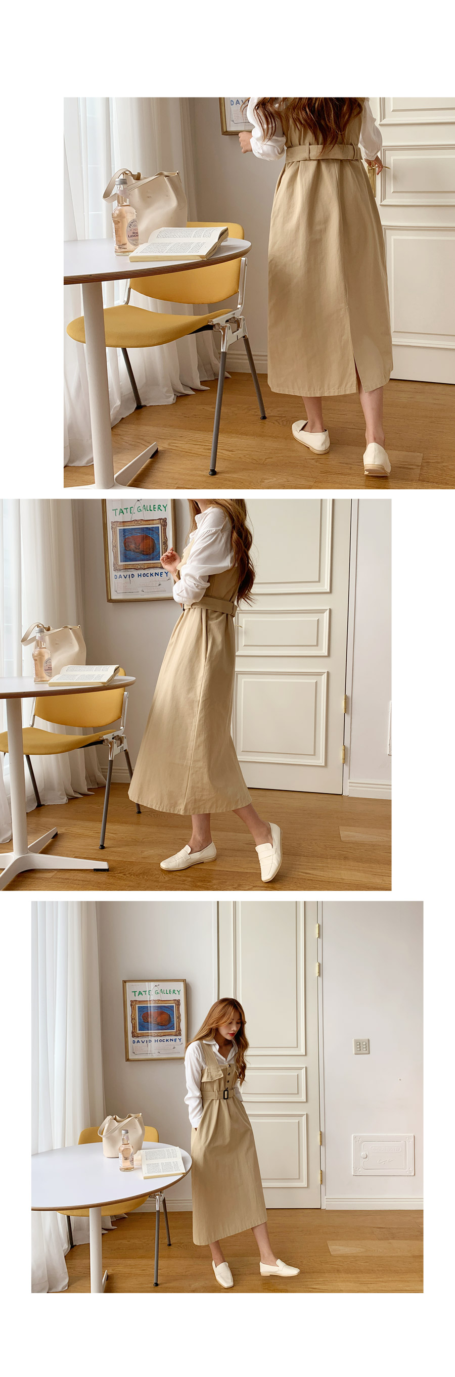 Michelle Trench Bustier Long Dress