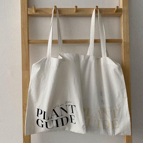 PLANTGUIDE兩用型帆布袋