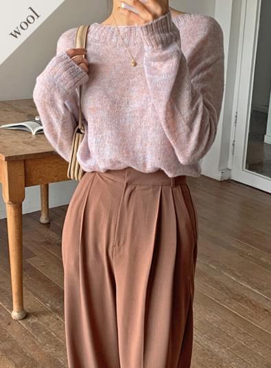 Meli wool knit