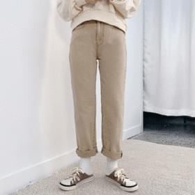 Kachi washed cotton trousers 長褲