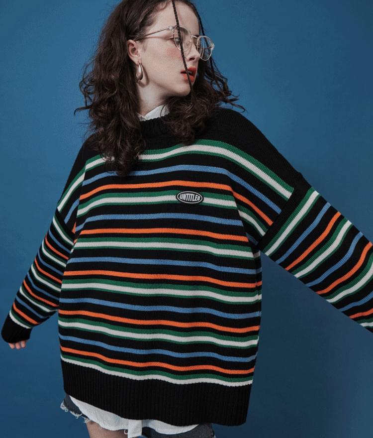 Untitle8 Stripe Knit
