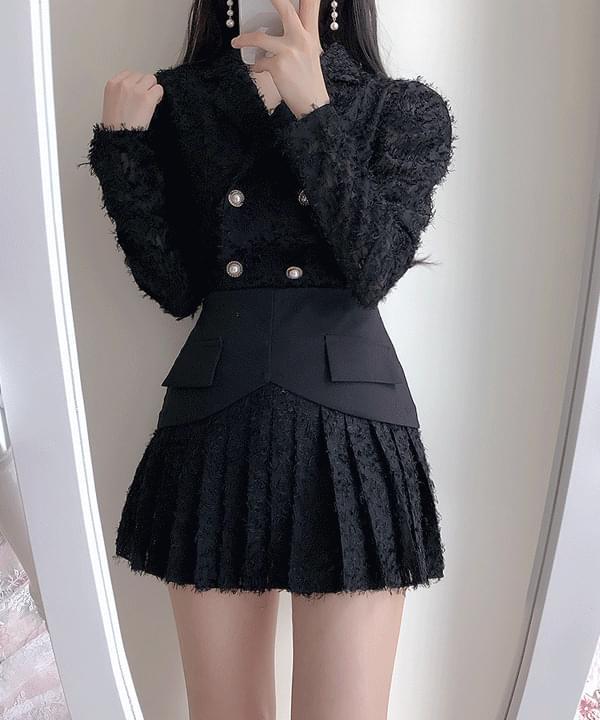 Yeoni surgical collar blouse
