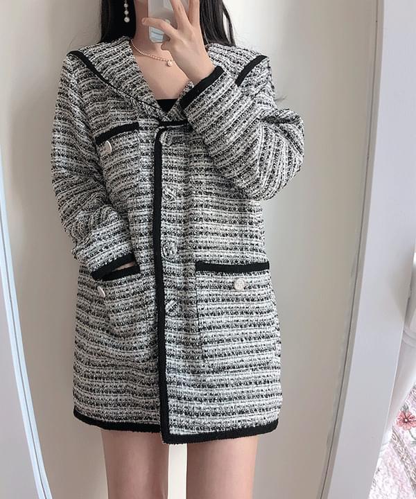 Melrose Tweed Cera Jacket Dress