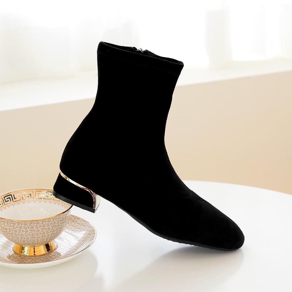 It Girl Socks Ankle Boots 3cm