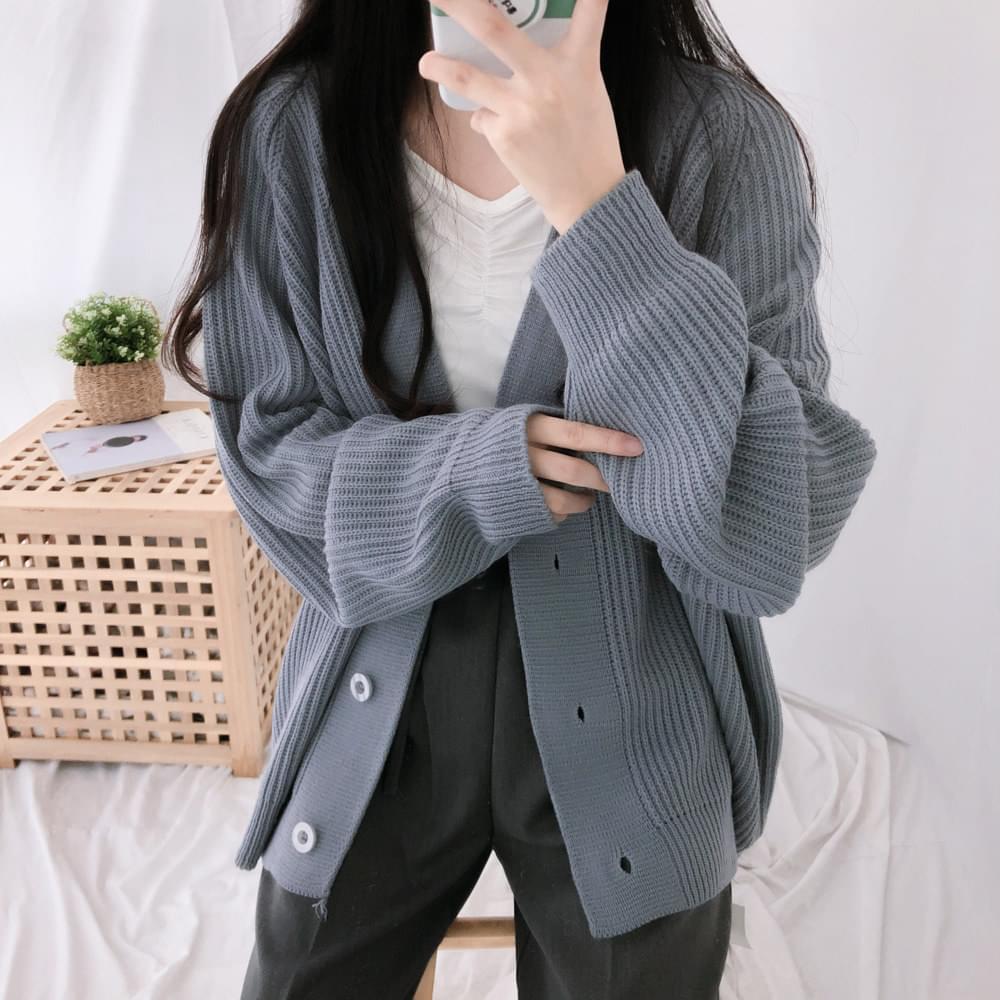 Midi hatchi loose cardigan