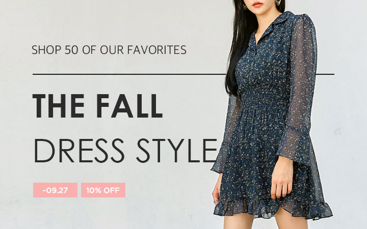 THE FALL DRESS STYLE