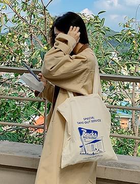 Bugs printing eco shoulder bag 帆布包