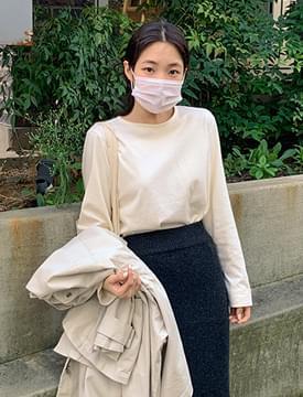 韓國空運 - Morris Daily Round Tea 長袖上衣