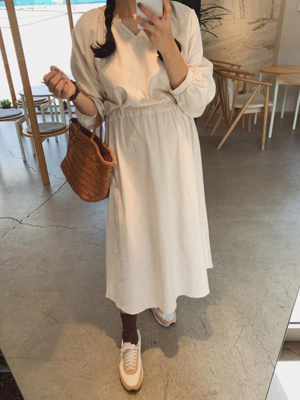Bonita Shirring String Dress 洋裝