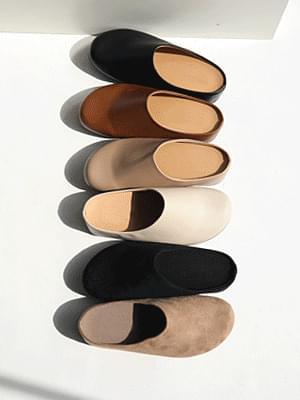 Chestnut tall blocker 4cm loafers