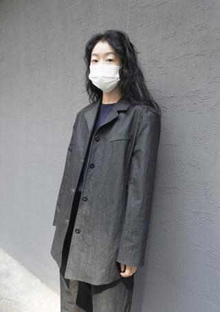 clean cotton set - jacket (3colors)