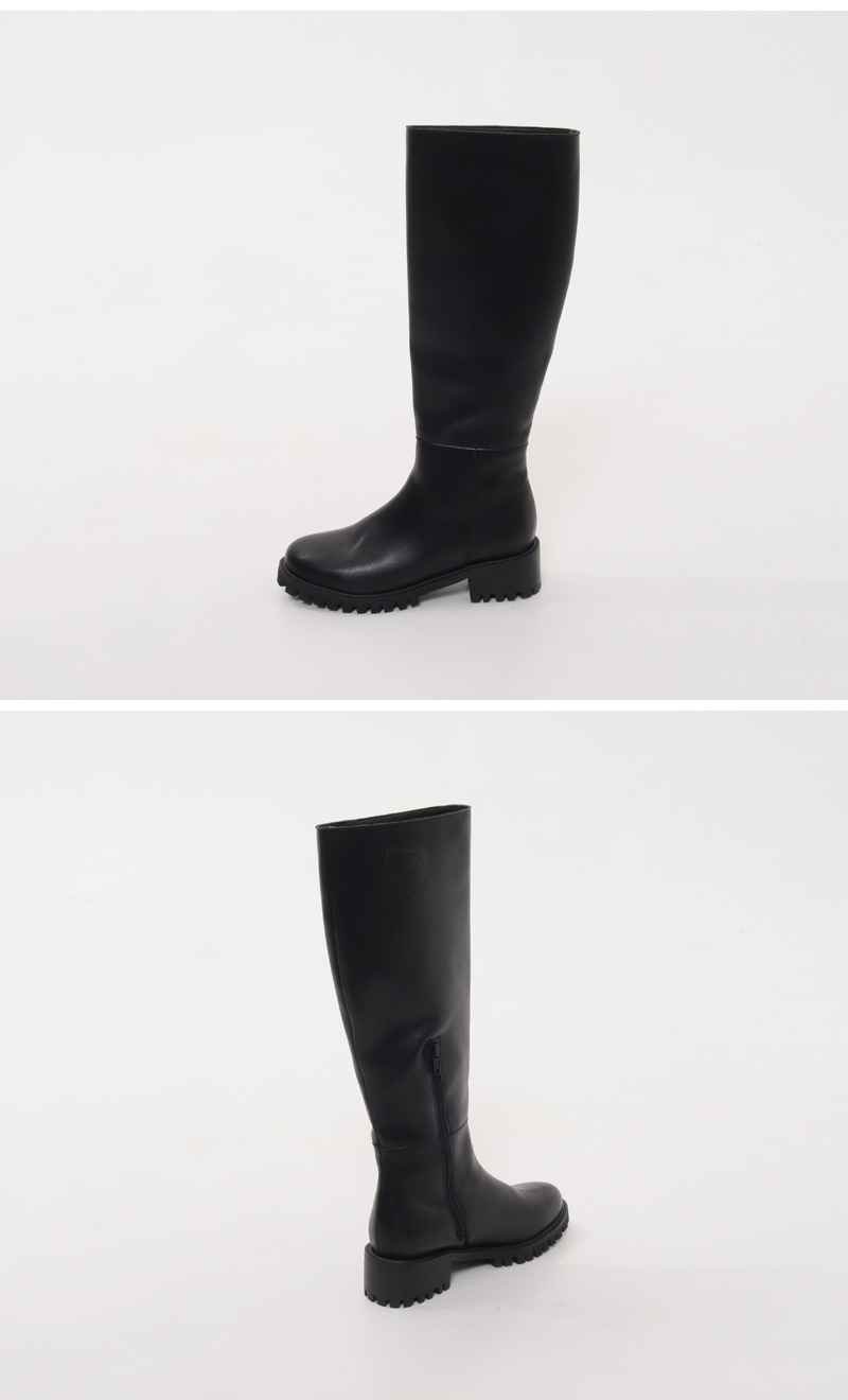 Berry Round Long Boots