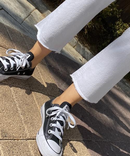 Autumn High Waist Spandex Semi-Boot Cut Pants