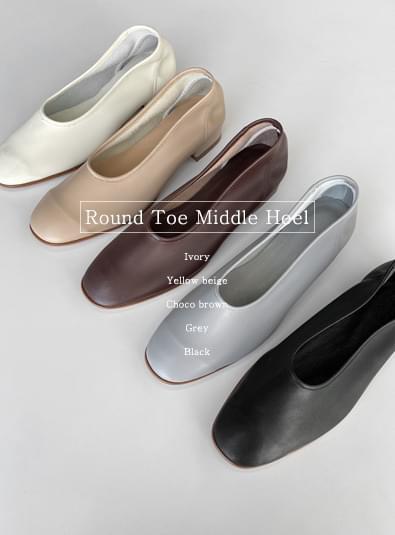 Marine shoes heels