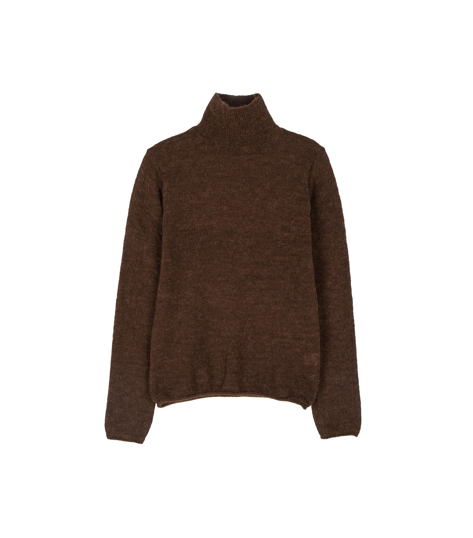 Bobo alpaca turtleneck knit