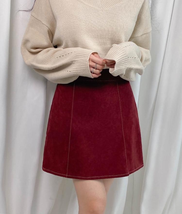 Fantastic stitch skirt skirt