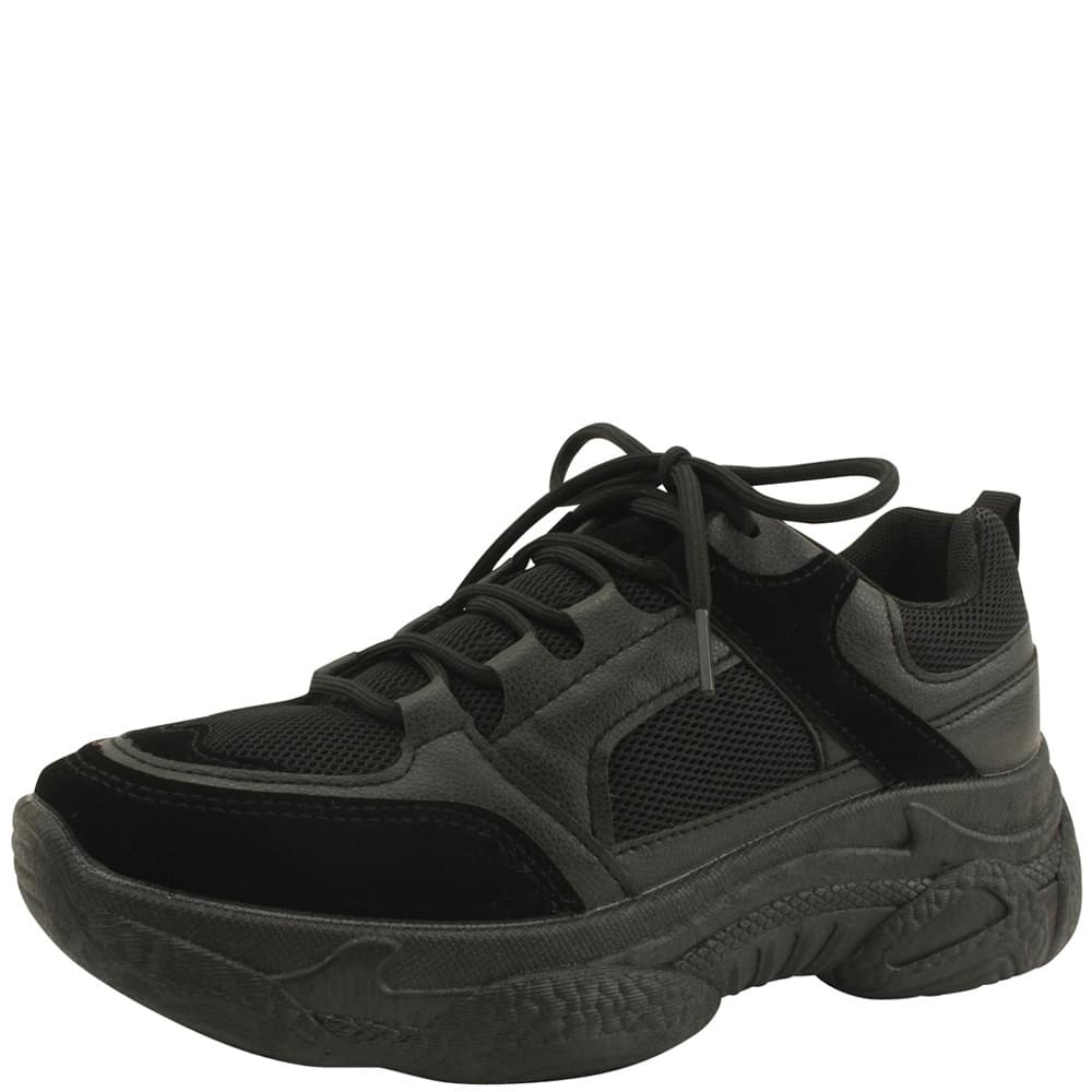 Daily Height Ugly Shoes Black