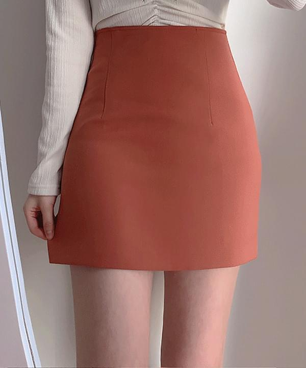 Four seasons H-line mini skirt