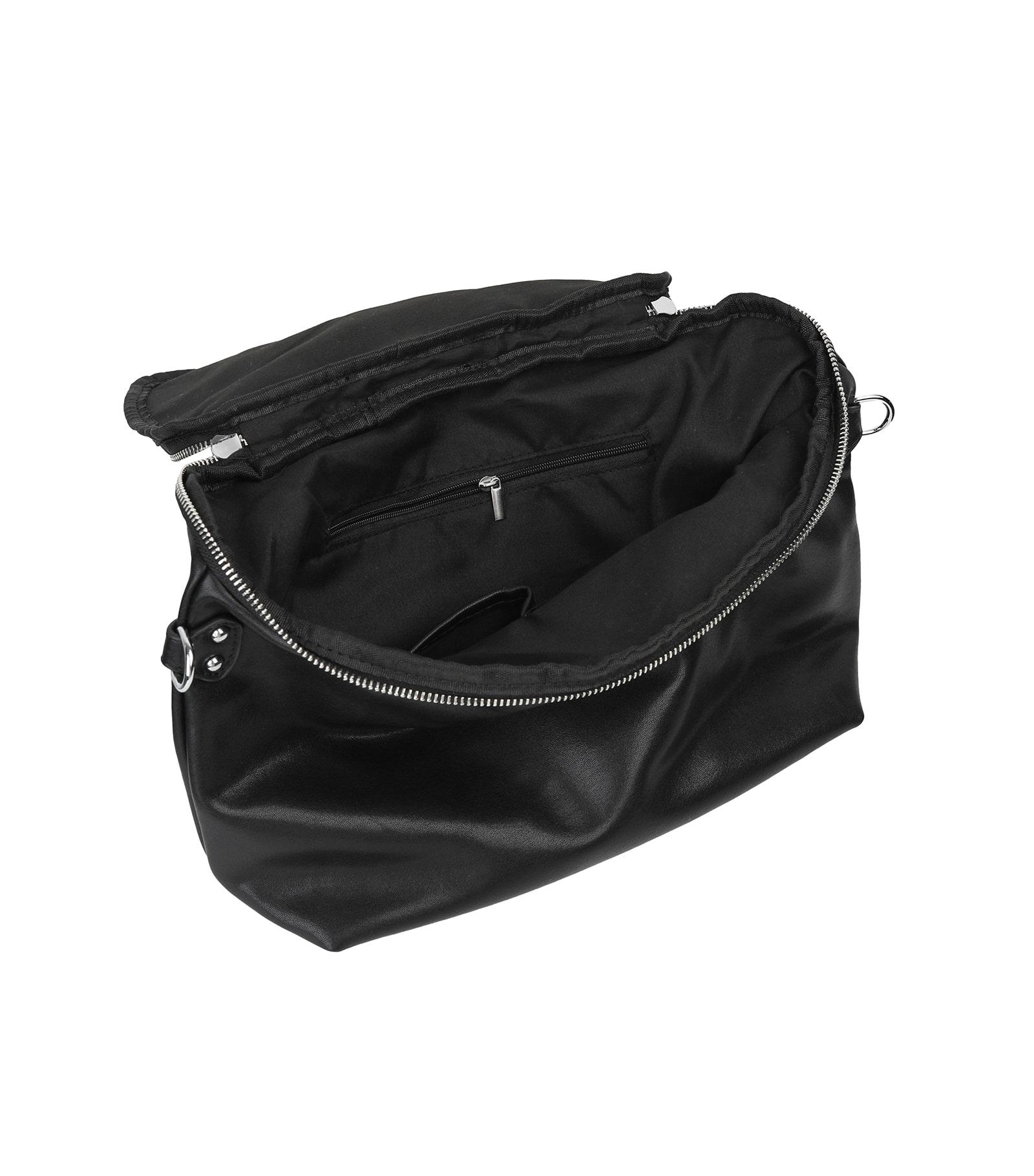 Byder black two-way shoulder bag