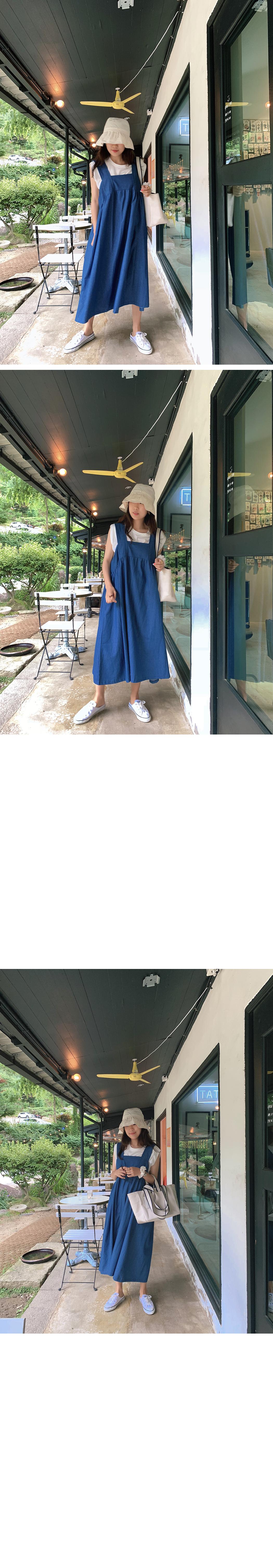 Heidi Square Denim Dress