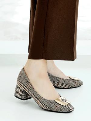 Cheria middle heel pumps 5cm heels