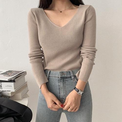 Reshell V Knit knitwears