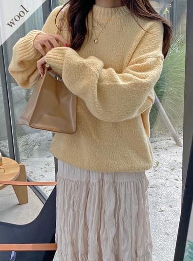 Mela boxy knit